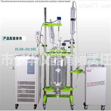 YSFT (EX) - tray type variable frequency speed regulating double layer glass reaction kettle