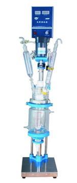 YSF-1L, 2L, 3L double layer glass reaction kettle