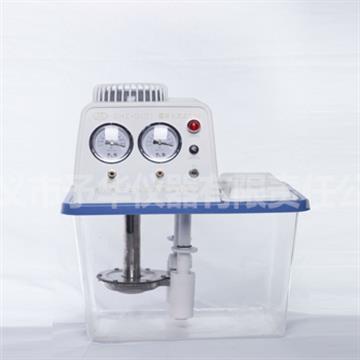 SHZ-D(III)透明水箱不锈钢双表双抽